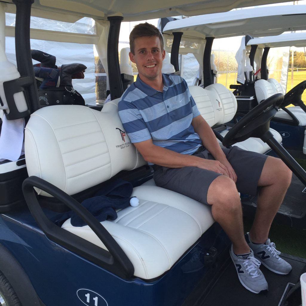 Tyson Lamb, golf