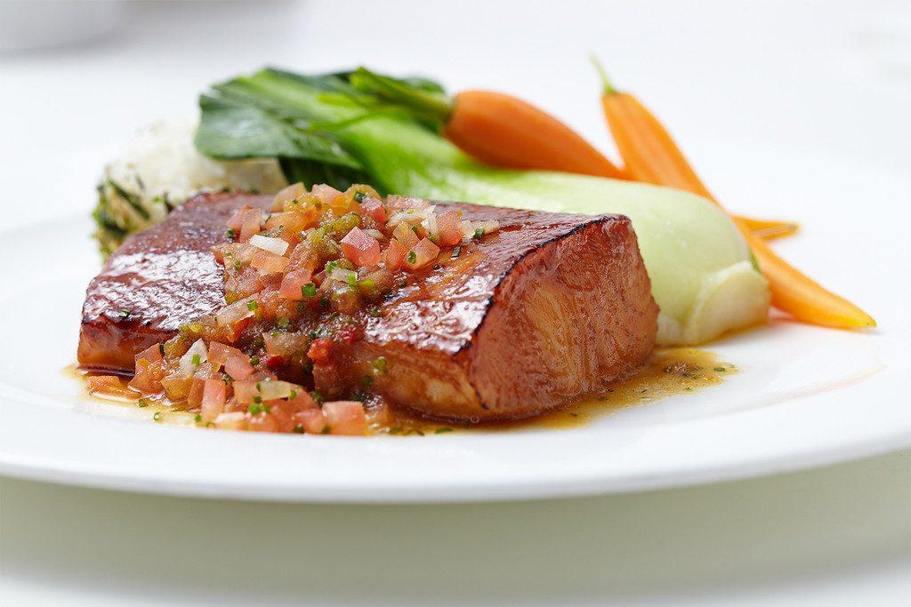 Misoyaki butterfish at Roy's Plano, restaurant
