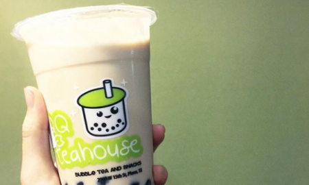 Boba tea, bubble tea, QQ teahouse, plano