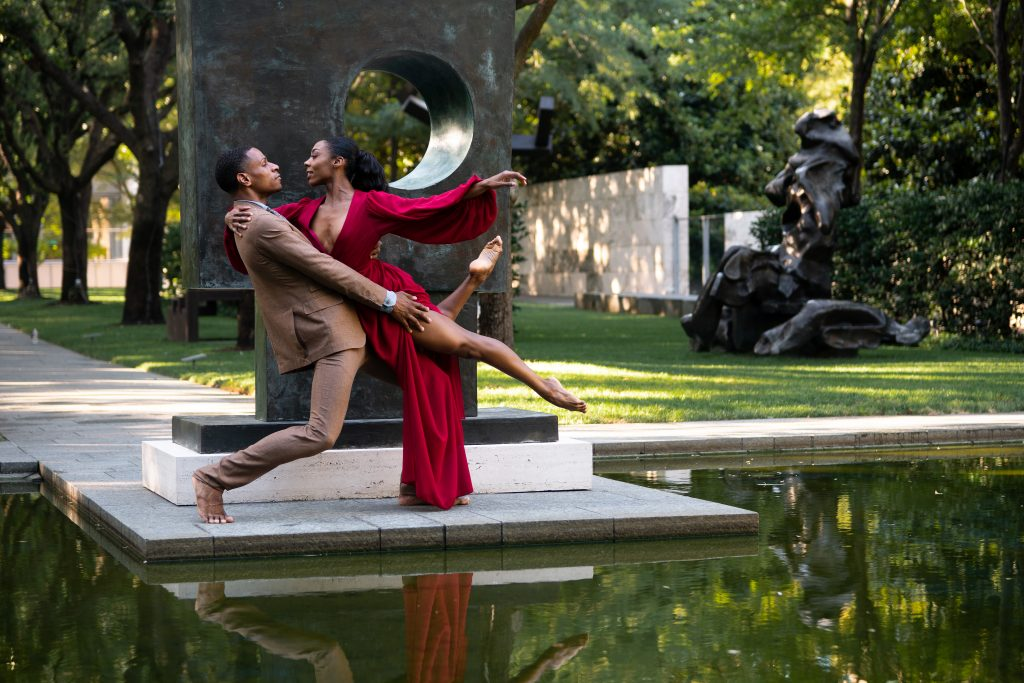 Dallas Black Dance Theatre at the Nasher Sculpture Center | All photography by Cori Baker