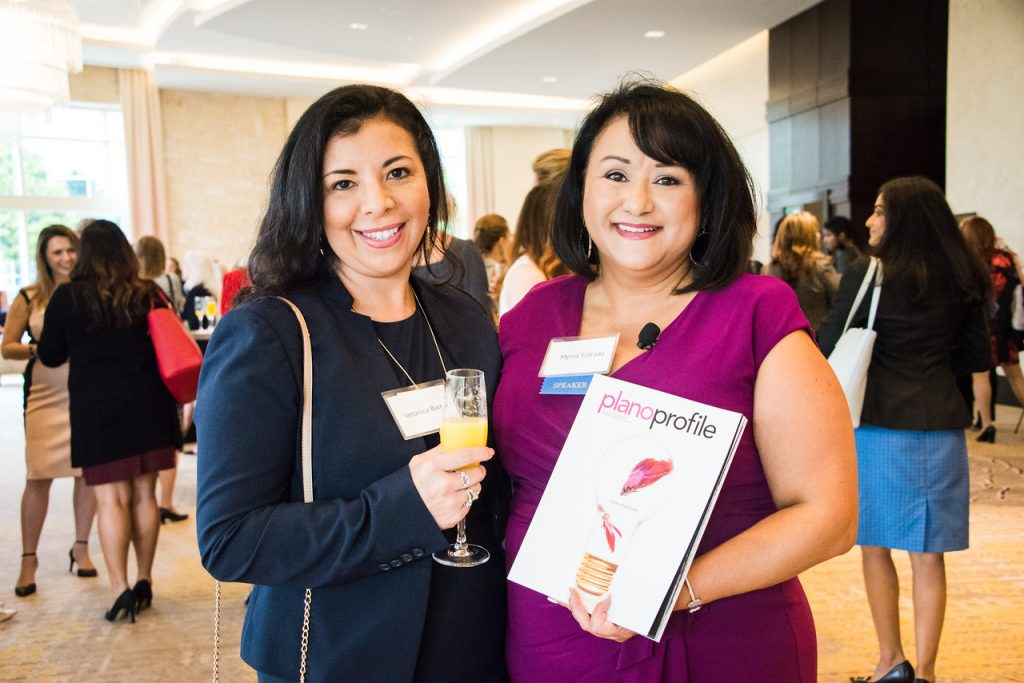 Myrna Estrada, Plano Profile, Women in Business Summit
