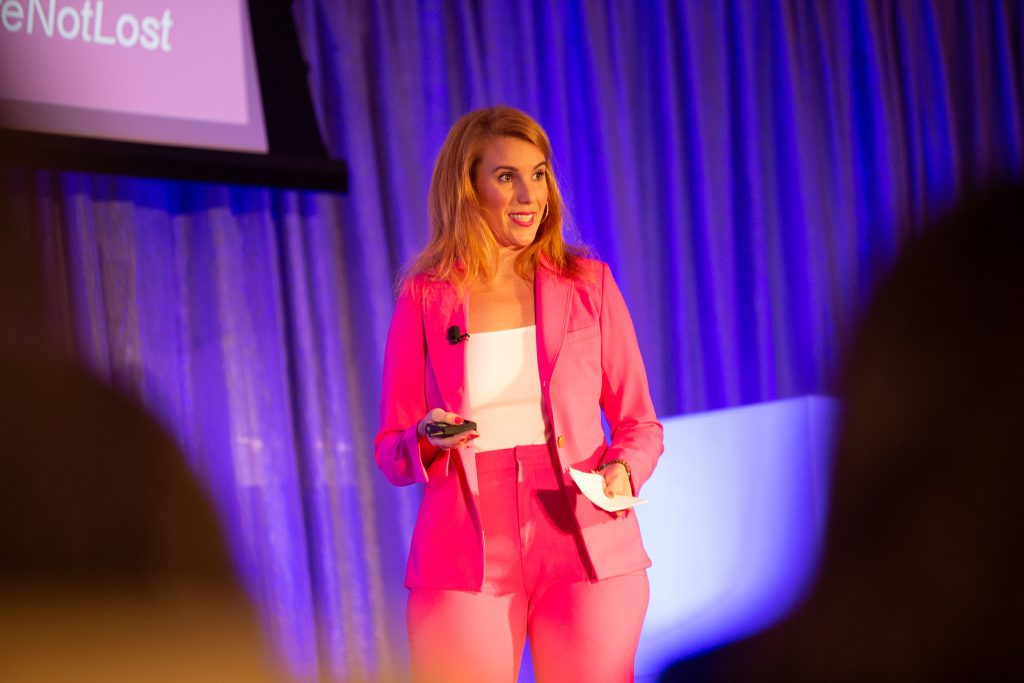 Maxie McCoy, You're Not Lost, author, Plano Profile, women in business summit