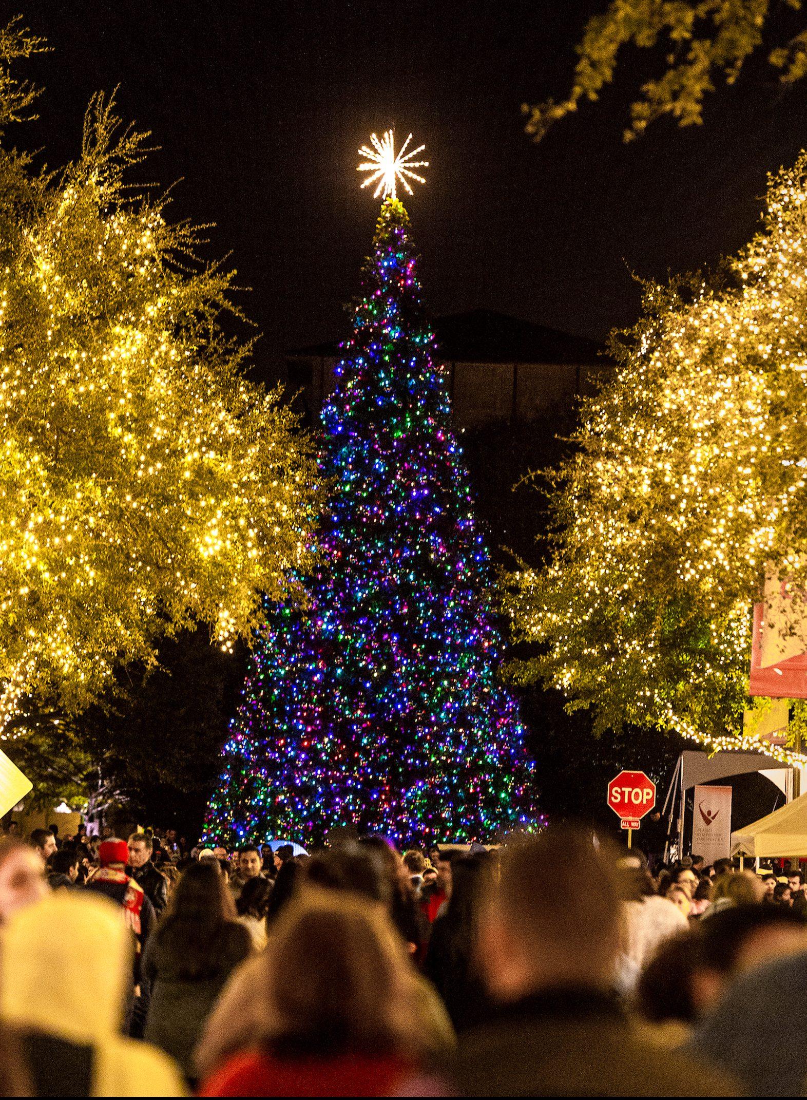 lights at legacy the shops at legacy plano texas november 2017