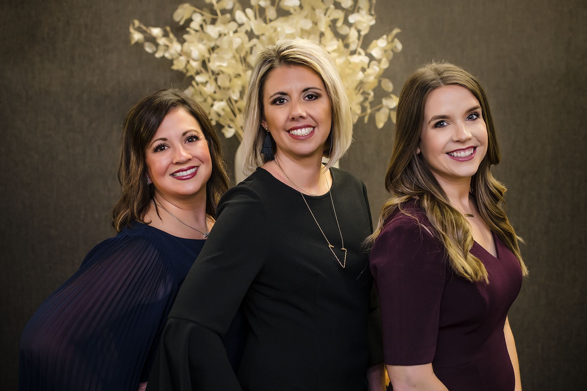 Niki Knowles, Alicia Wade, and Bridget Jaime of Valliance Bank