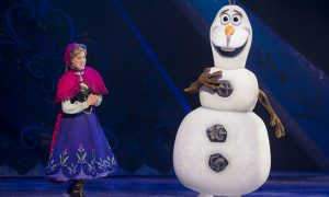 Frozen on Ice, Allen, Disney