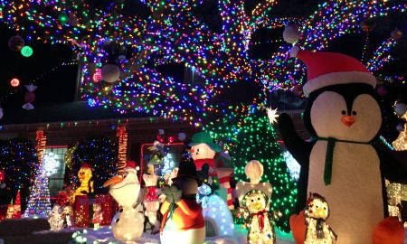 biscayne drive, holiday christmas lights, plano, texas