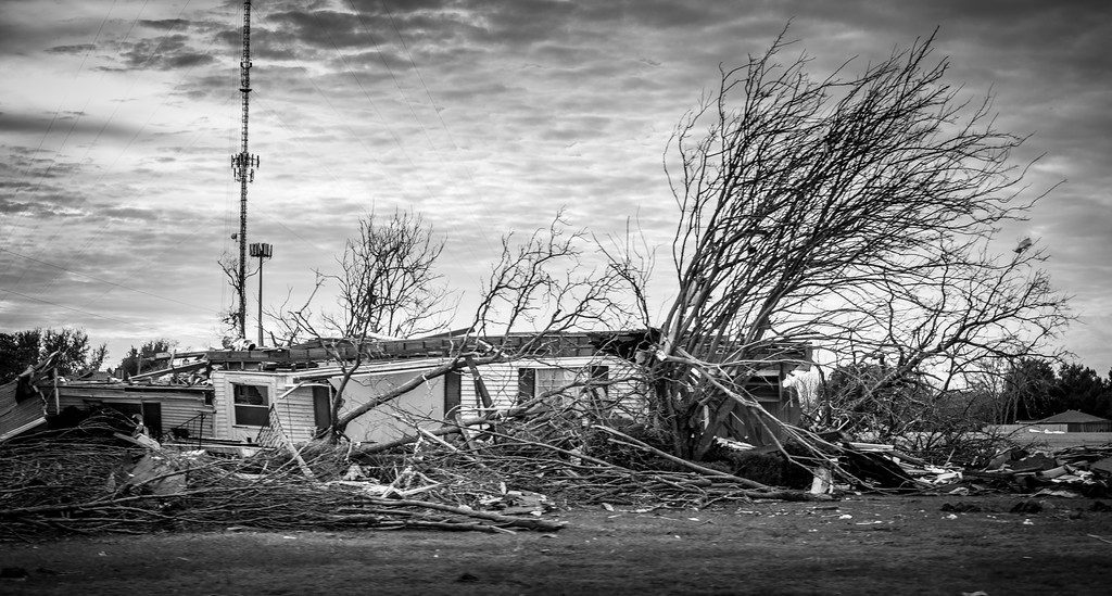 The many tornadoes that disrupted and dismantled our lives on December 26, 2015 was the worst disaster caused by tornadoes North Texas has seen in 88 years. Aftermath captured by Brandon Hurd.