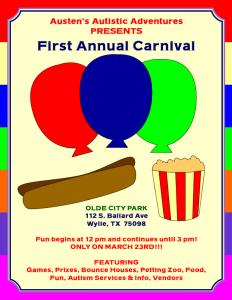autism carnival