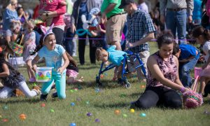 st andrew easter egg hunt