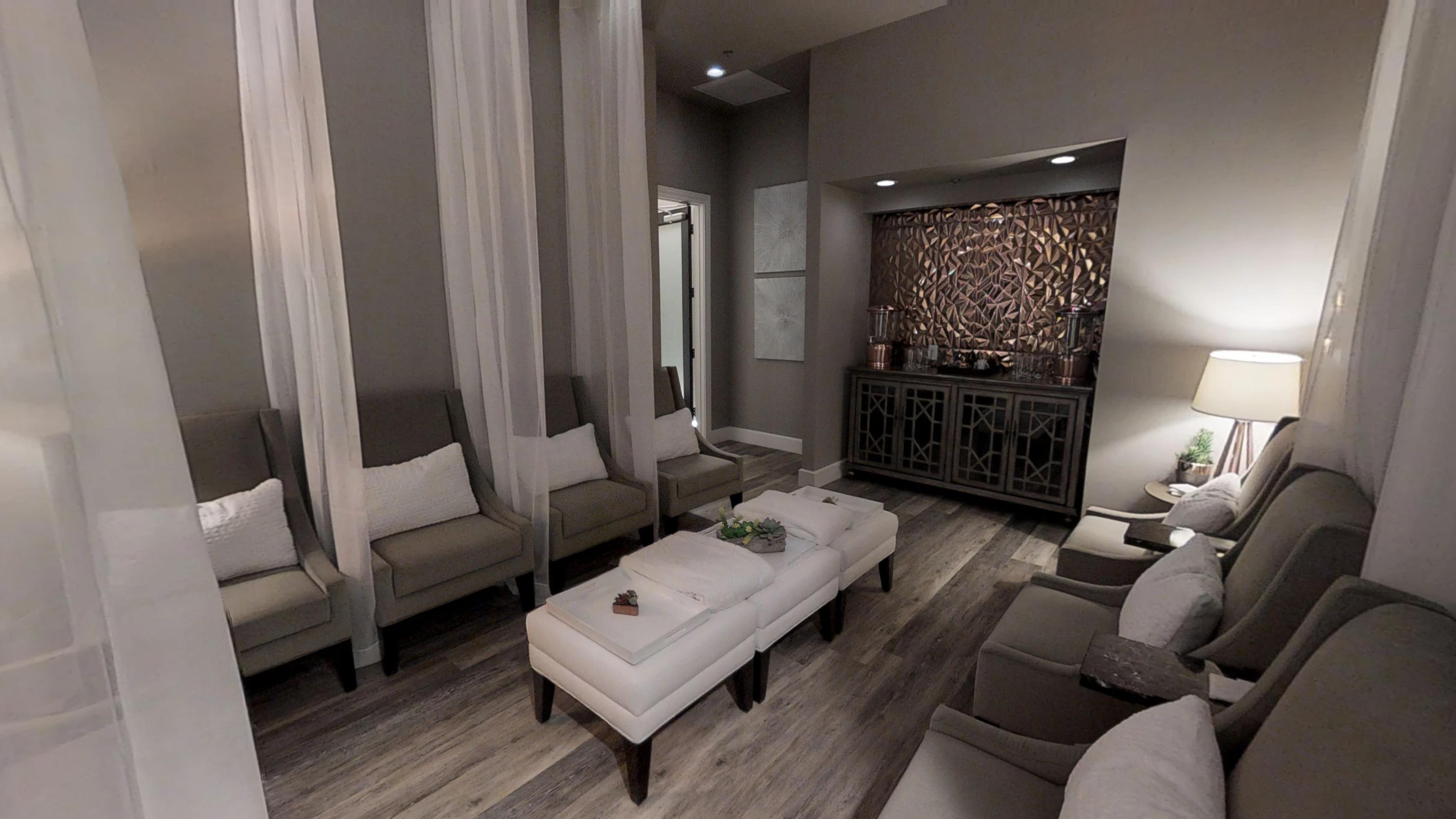 Relaxation Lounge at Culture A Day Spa, Frisco