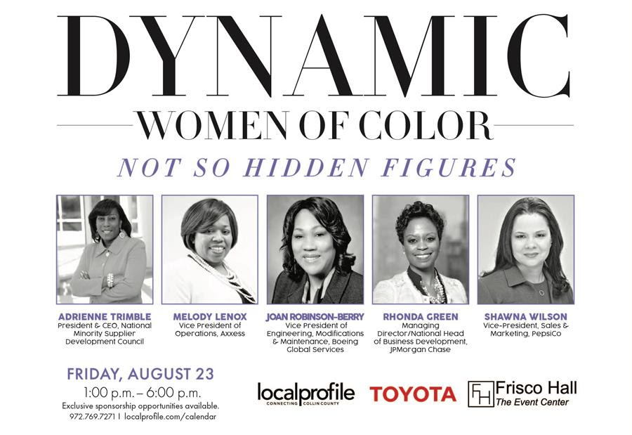 List of Nominees: Dynamic Women of Color Champions of Change
