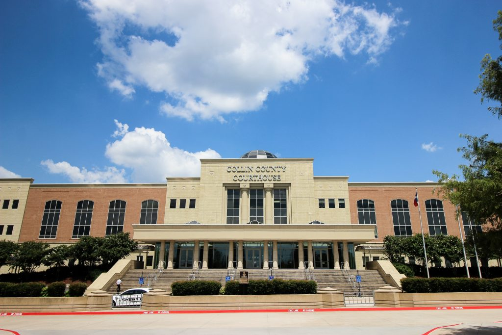 Collin County Courthouse women judges