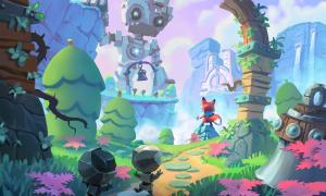 Super Luckys Tale screen shot Playful Studios