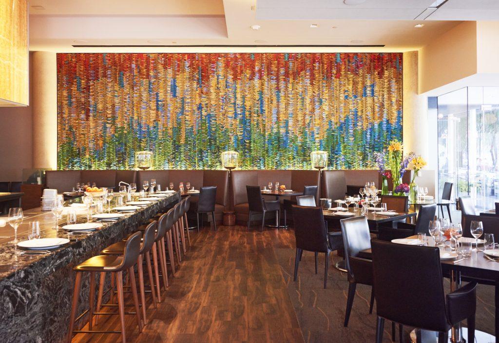 Flora Street Cafe dining room Dallas