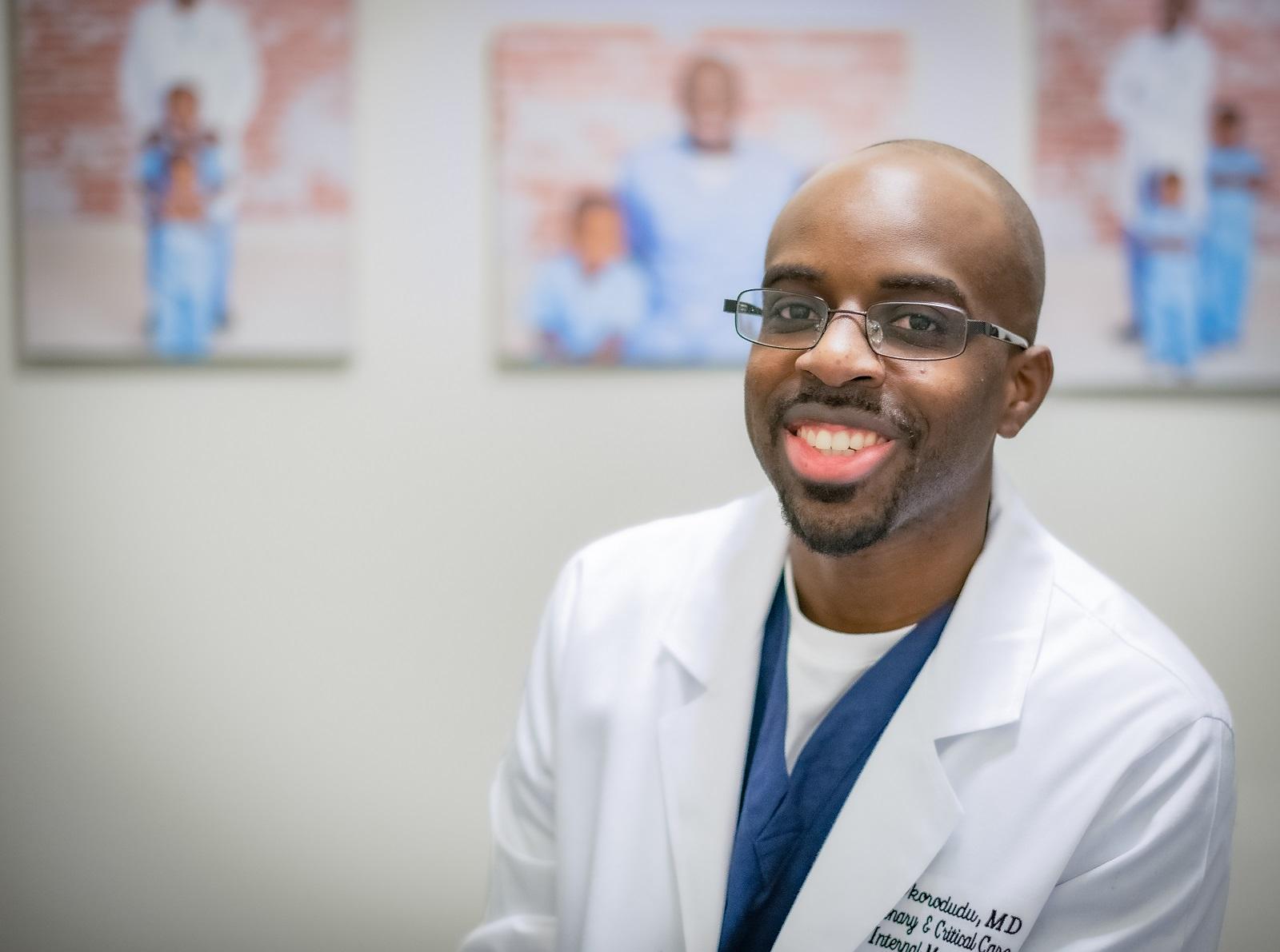 Dr Dale Okorodudu Black Men in White Coats