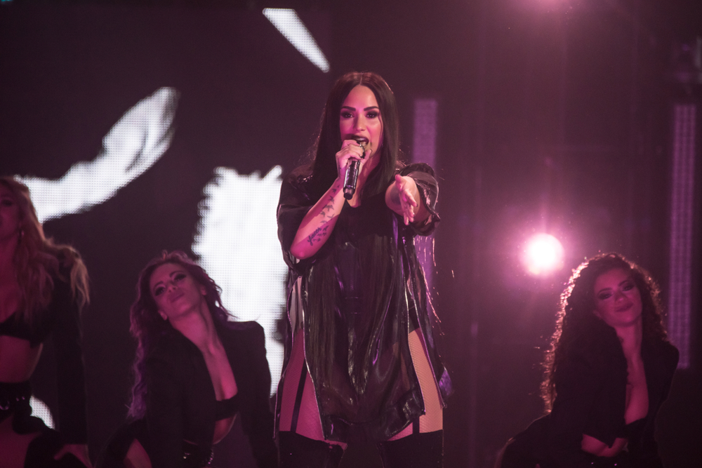 demi lovato north texas music
