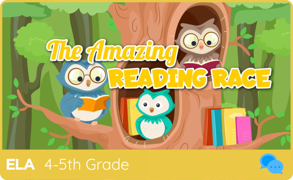 THE AMAZING READING RACE