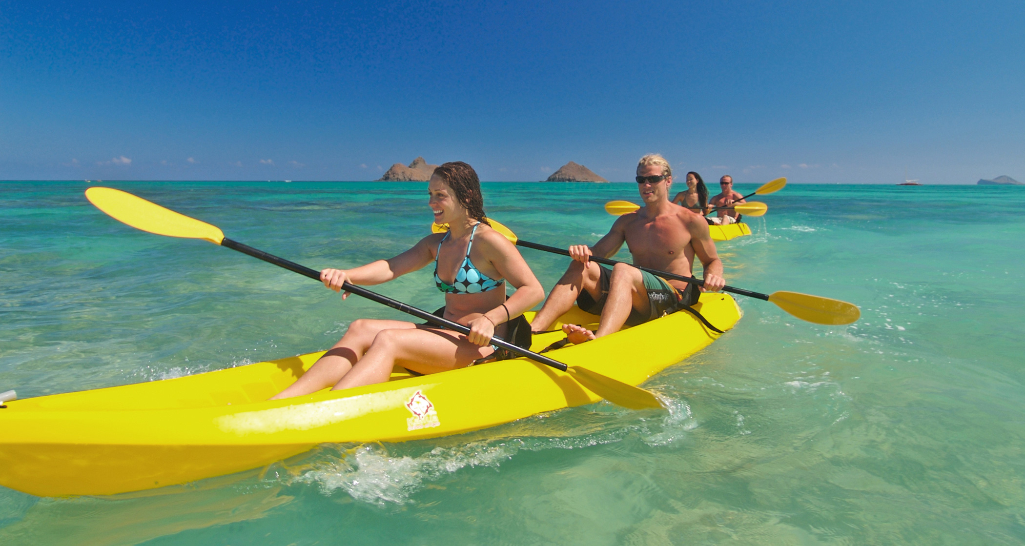 Product Twin Islands Guided Kayak Tour