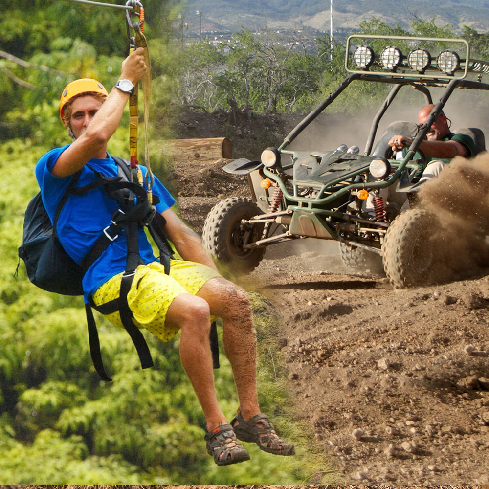 Zipline & ATV Off-Road Adventure