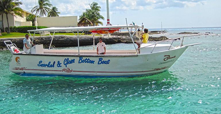 Glass Bottom Boat Cruise