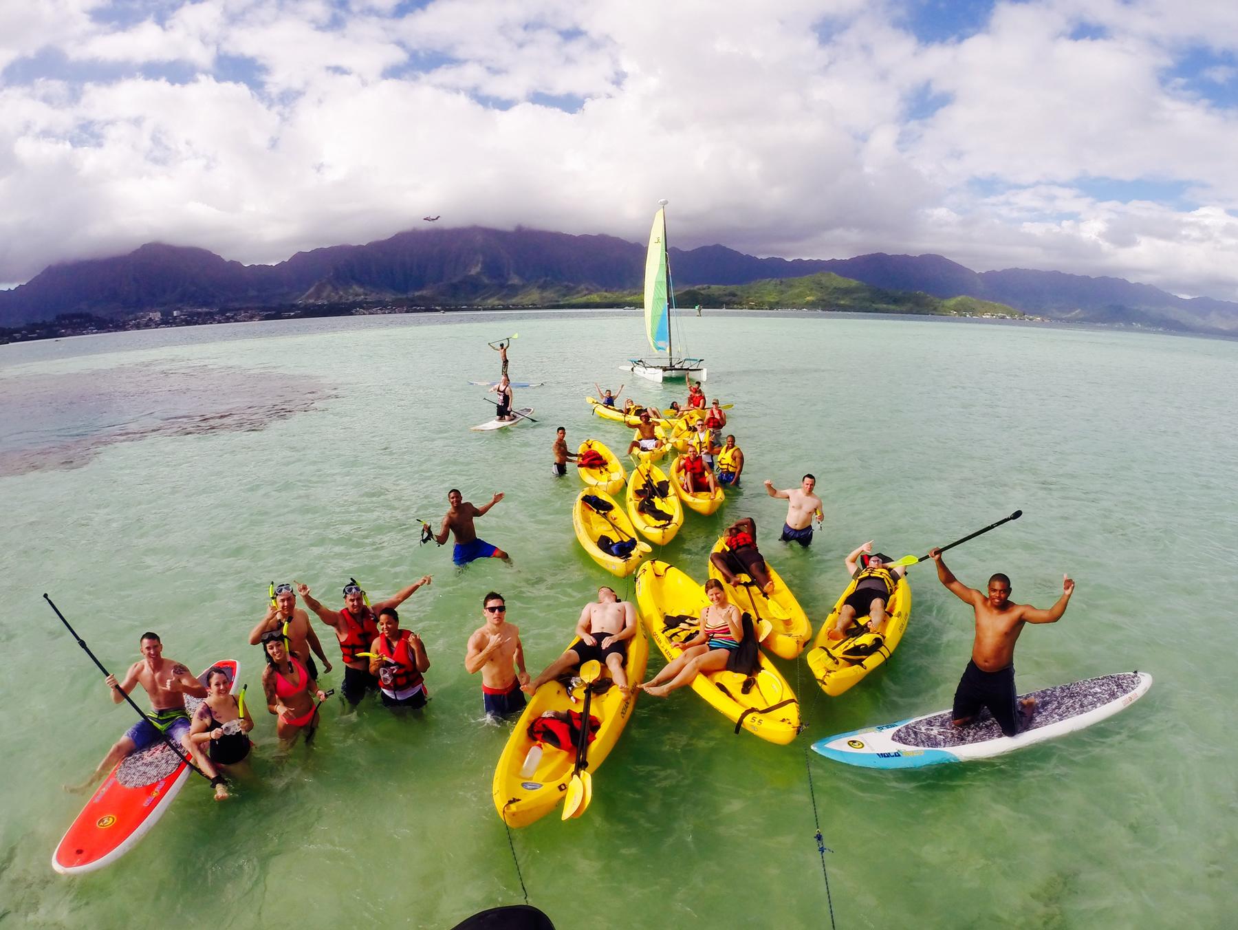Product Self Guided Kayak & Snorkel