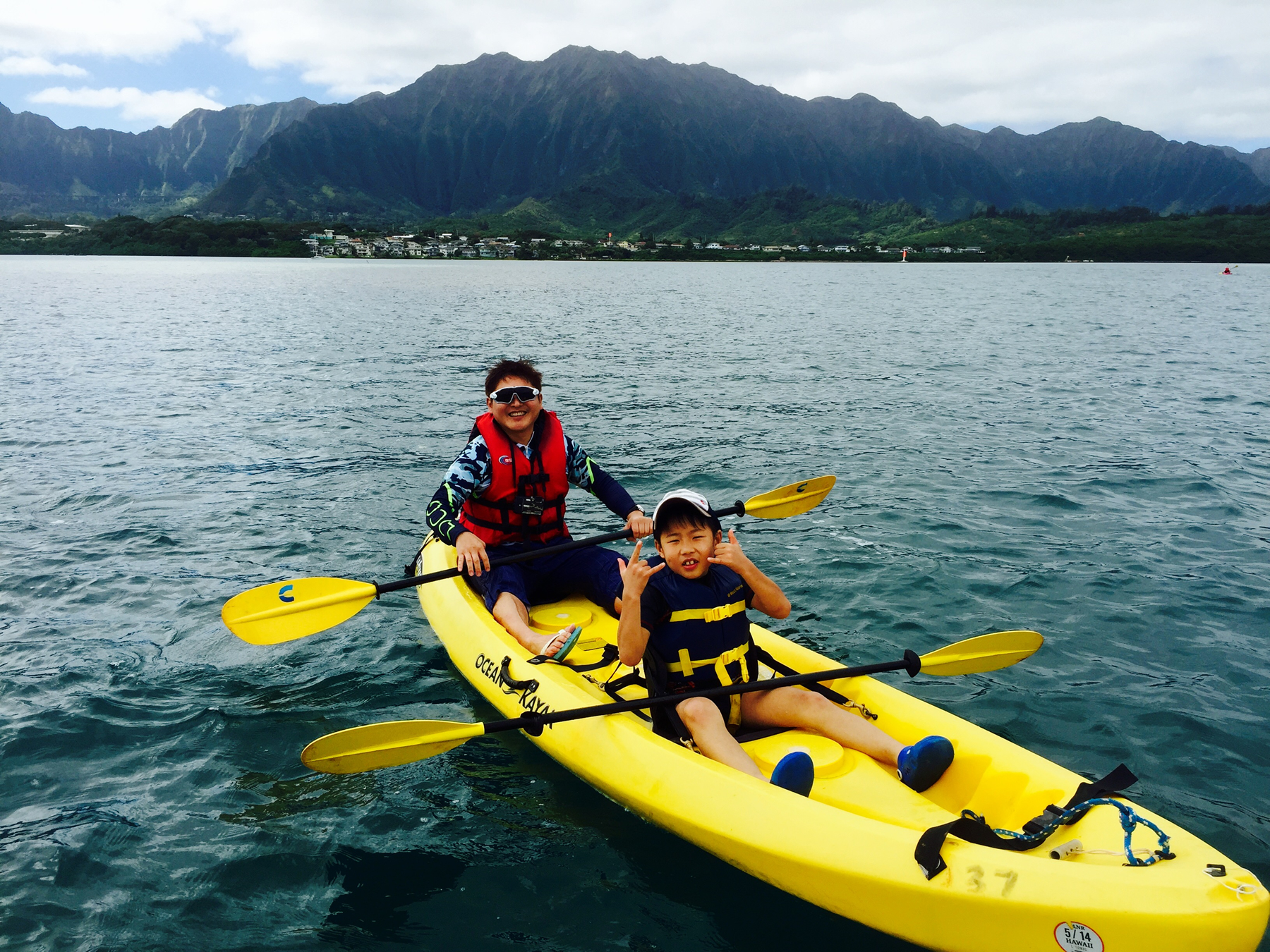 Japanese Speaking Guided Kayak & Snorkel Adventure