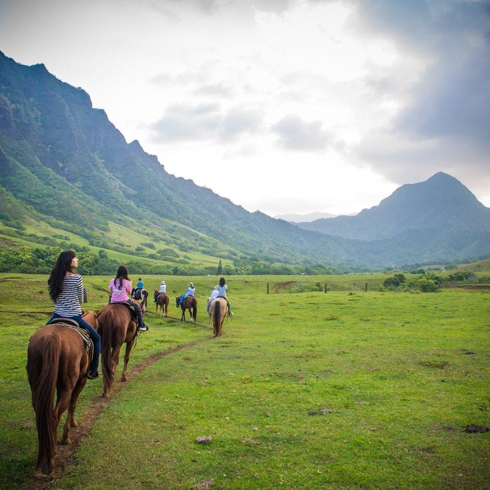 Kualoa Horseback Ride
