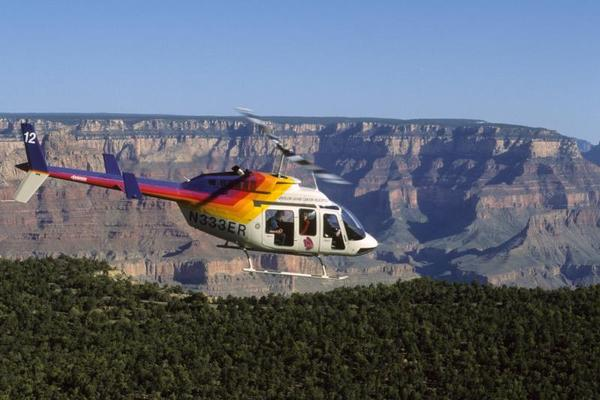 Grand Canyon South Rim Bus w Heli