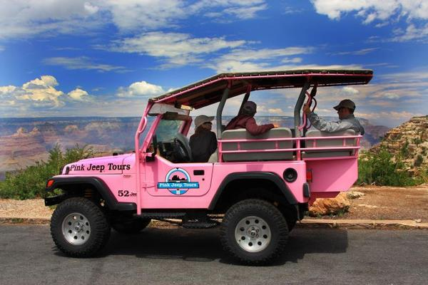 Grand Canyon South Rim Bus w PJeep