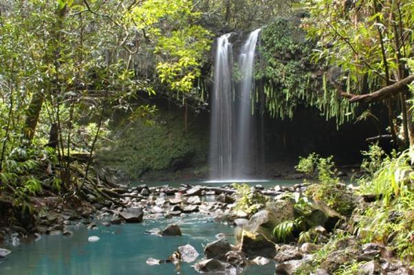 Short Waterfall Hike Adventure