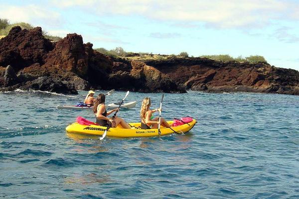 Kayak, Snorkel & Waterfalls