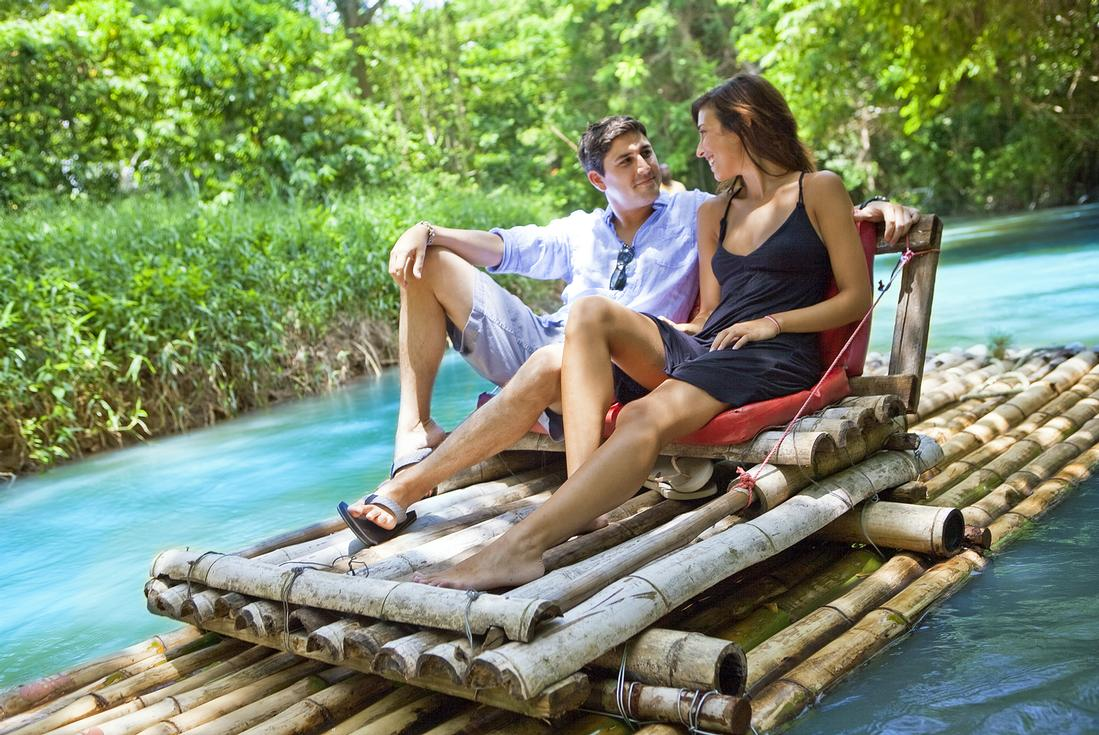 Product Bamboo River Raft-Montego Bay