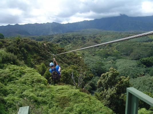 Kauai Backcountry Zipline Adventure image 2