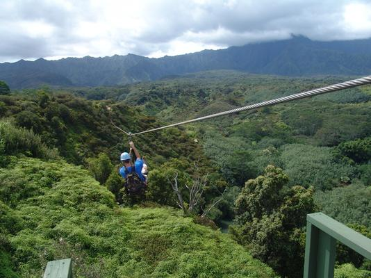 Product Kauai Backcountry Zipline Adventure