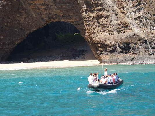 Product Na Pali Coast Raft Adventure Tour