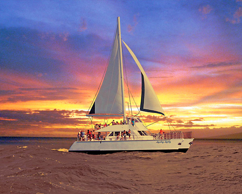 Na Pali Sightseeing Sunset Dinner Cruise
