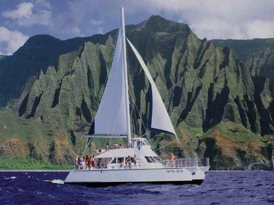 Product Na Pali Snorkel Catamaran Tour