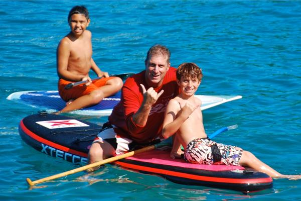 Keahou Stand Up Paddle Lesson