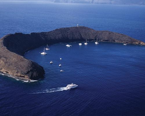 Product Pride of Maui Deluxe Morning Molokini Turtle Cruise