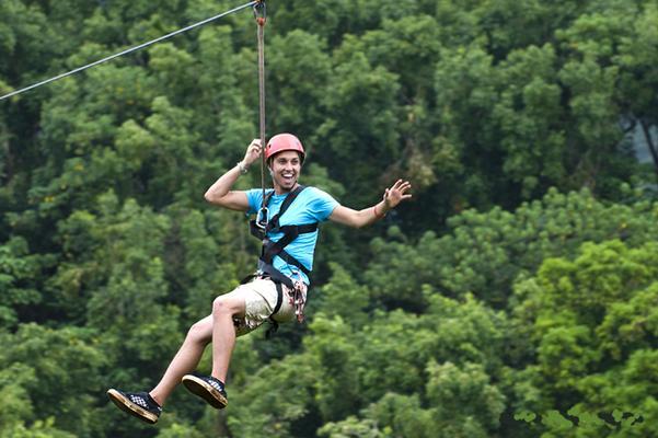 Kipu Falls Zipline Safari image 1