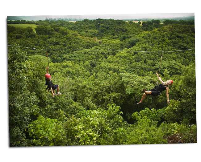Product Kipu Falls Zipline Safari