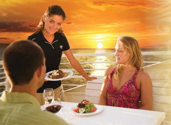 Sunset Dinner Premium Seating Cruise