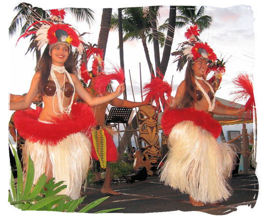 Product Wailele Polynesian Luau