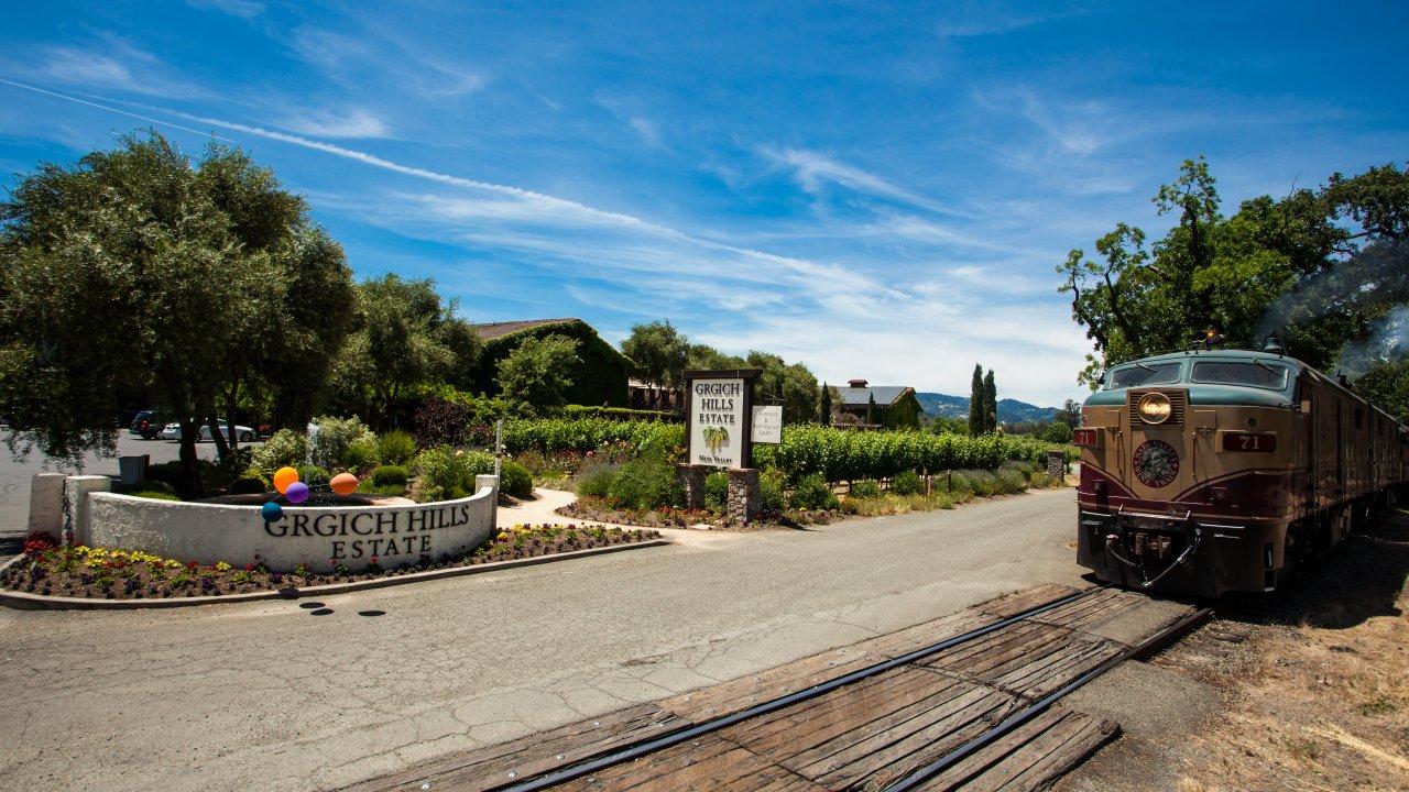 Grgich Winery Tour