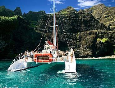 Na Pali Snorkel Sunset Dinner Cruise