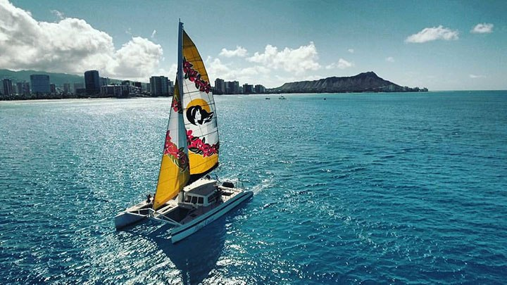 Product Waikiki Panorama Sail
