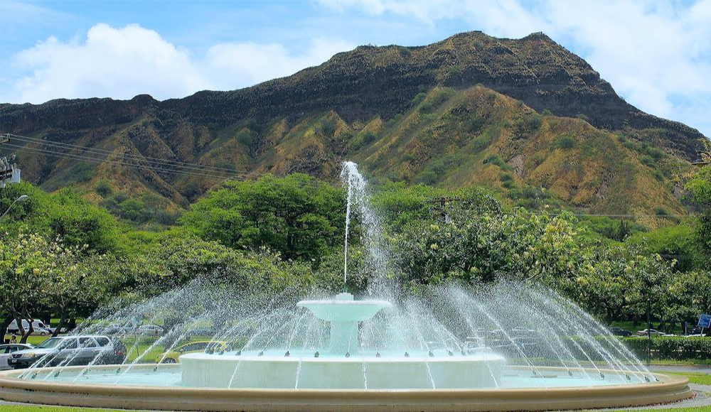 Product #1B Diamond Head Crater