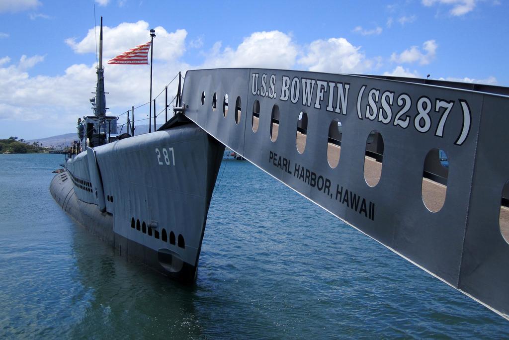 USS Bowfin Submarine  image 1