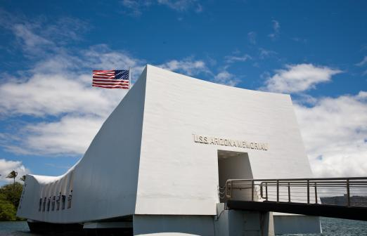 Pearl Harbor Stars and Stripes