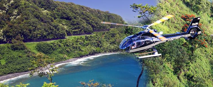 45 Min Hana/Haleakala Helicopter
